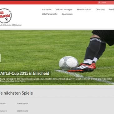 "SG-Alfbachtal.de wird ""responsive"""