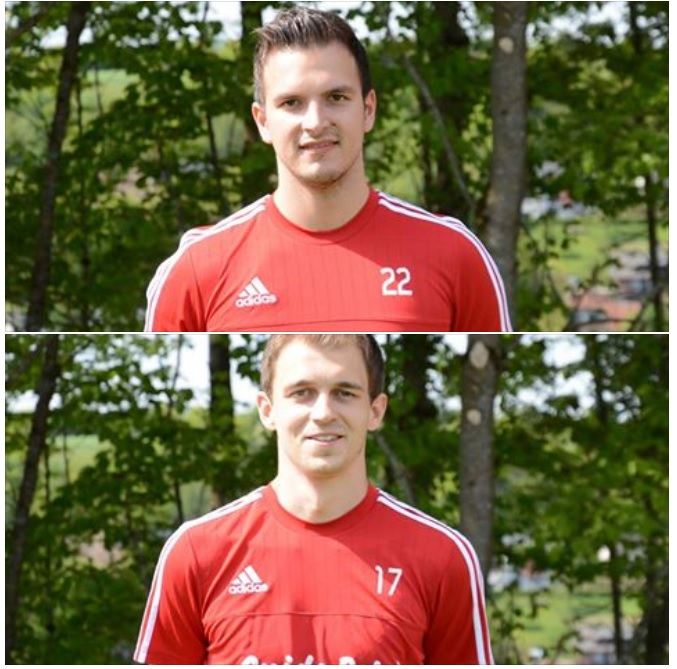 Fallen verletzt länger aus: Tim Diederichs (oben) und Markus Schmitz. Foto: D. Willems