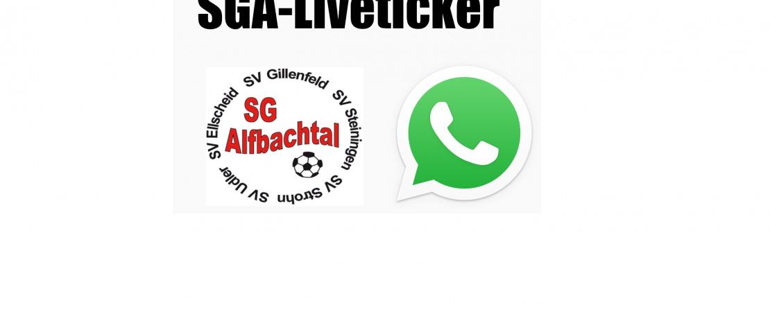 Auf dem Laufenden bleiben: WhatsApp-Liveticker für SGA-Fans