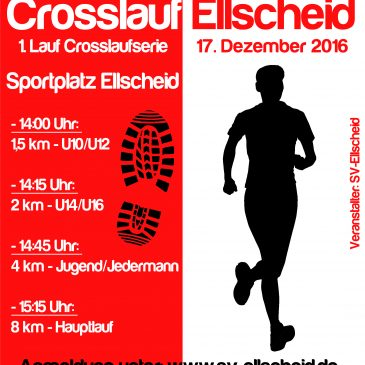 Vulkaneifel-Crosslauf am 17. Dezember in Ellscheid