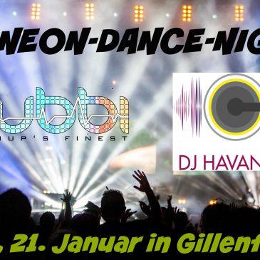 6. Neon-Dance-Night am 21. Januar