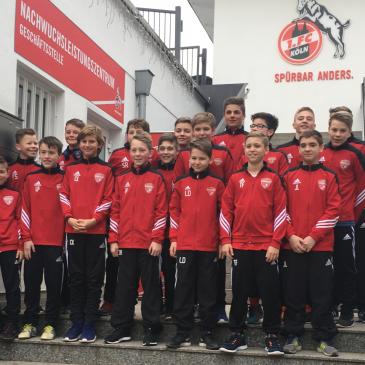 JFV Vulkaneifel zu Gast beim 1. FC Köln