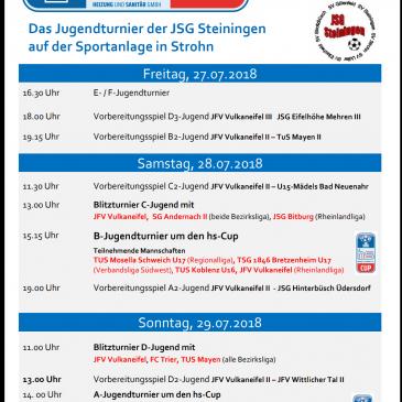 HS-Cup vom 27.07.2018 bis 29.07.2018