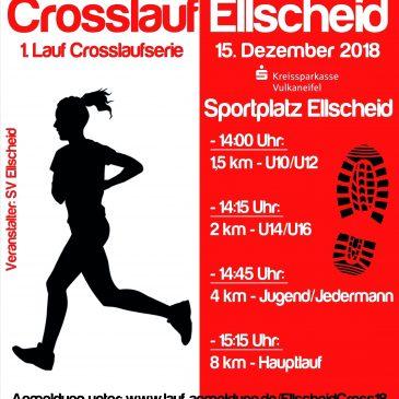 Crosslauf SV Ellscheid am 15.12.2018